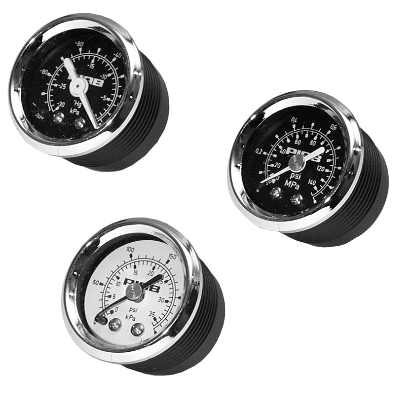 Vacuum gauge and manometers