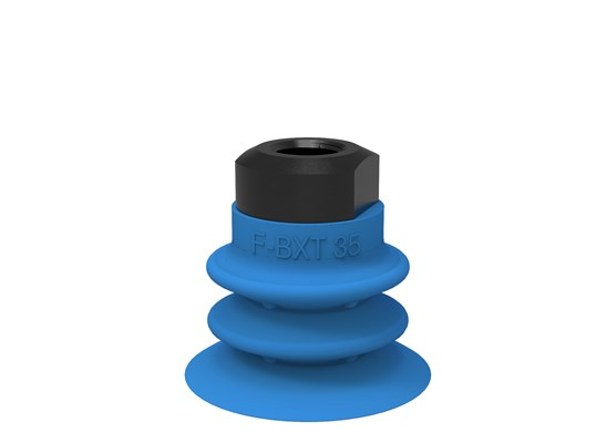"Suction cup F-BXT35 Silicone 1/8"" NPSF female, with dual flow control valve"