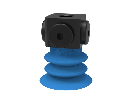 "Suction cup F-BXT35 Silicone 5x1/8"" NPSF female, with dual flow control valve"