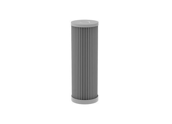Pleated filter SS L=178