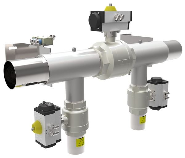 Valve unit for electro mechanical pump and piFLOW®